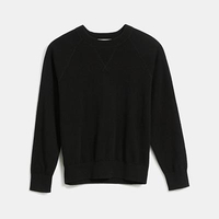 The Cashmere Shrunken Sweatshirt